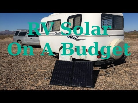 Easy (and cheap) RV Solar Solution