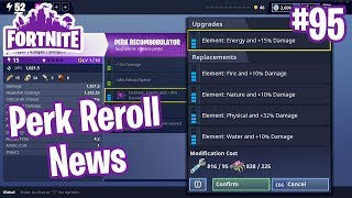 How Perk Reroll Works Recombobulator Legendary Troll Loot Truck Llamas Fortnite#95