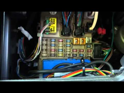 toyota corolla fuse boxes locations years 2002 to 2015  and fuse replace  -  youtube