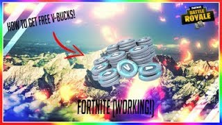 How to get free V-Bucks in fortnite! Working 2018 (No Survey Required)