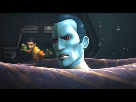 [Thrawn & Ezra disappear into the Hyperspace] Star Wars Rebels Season 4 Episode 16 [HD]