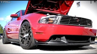 Twin Turbo Coyote Mustang runs 9's on stock motor and trans!