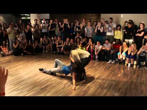 Josta & Pasty, zouk workshop demo - the best in Prague 2011 [HD]