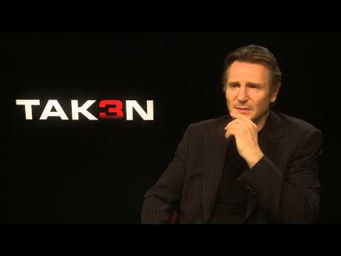"Liam Neeson: ""The success of Taken has surprised us all"" - Taken 3 interview"