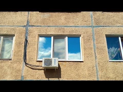 Как наклеить солнцезащитную пленку на окно