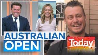 Hewitt's Australian Open preview   Today Show Australia
