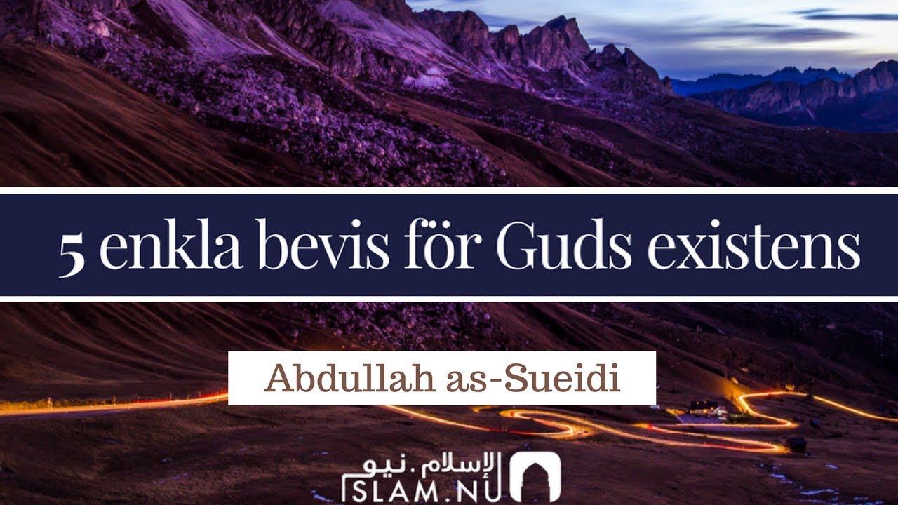 5 enkla bevis för Guds existens | Abdullah as-Sueidi