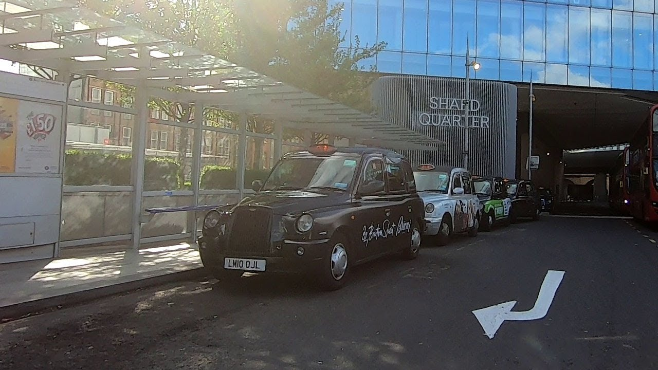 London Drive – Black Cab Taxi from The Shard to Leicester Square