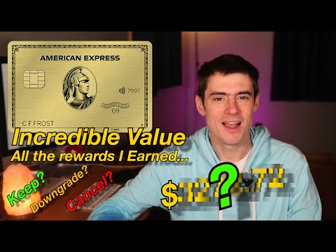 Amex Gold Year One Review: Keep, Cancel Or Downgrade?