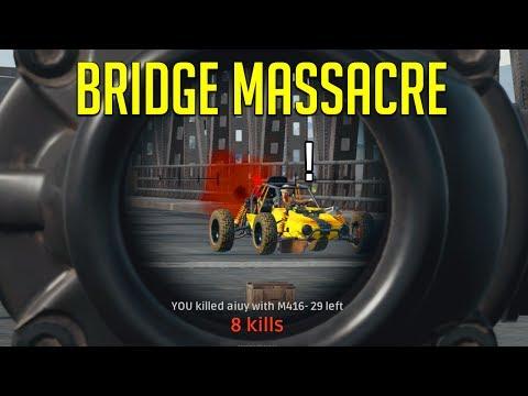 [BattleGrounds] The Bridge Massacre!