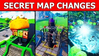 SECRET MAP CHANGES! NEW FORTNITE UPDATE (ROCKET LAUNCH SITE & MOISTY PALMS)
