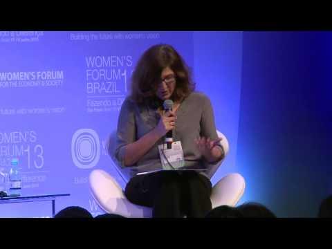 Women's Forum Brazil 2013   Discurso de Jacqueline Pitanguy e Sessao plenaria   Garantindo o maximo