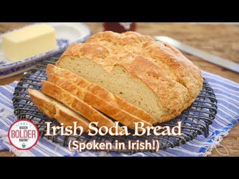 Gemma Makes Irish Soda Bread In IRISH (w/Subtitles) | Bigger Bolder Baking