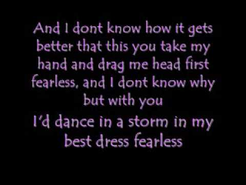 Taylor Swift - Fearless [Lyrics and Download Links]