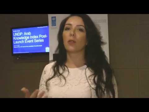 UNDP: Arab Knowledge Index Post-Launch Series, New York