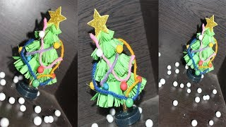 How to make Christmas tree | How to Make Paper Christmas Tree | Making of Paper Christmas Tree