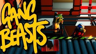 GANG BEASTS ONLINE - You Smell Smokey... [MELEE]
