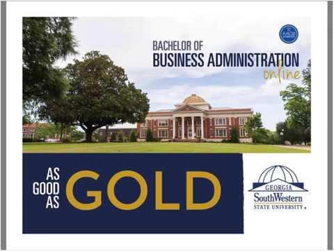 Online Business Degrees at GA Southwestern State University