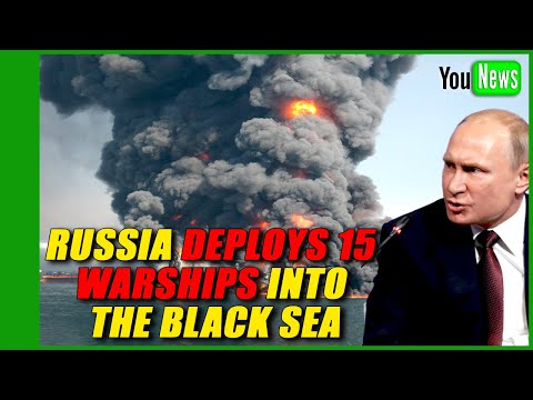 15 WARSHIPS DEPLOYED! Russia beefs up warship presence in Black Sea as Ukraine tensions simmer.
