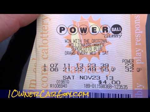 Superball Lottery Free Split Of Jackpot Lotto Prize Video