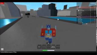 [ROBLOX] Transformers: The Movie