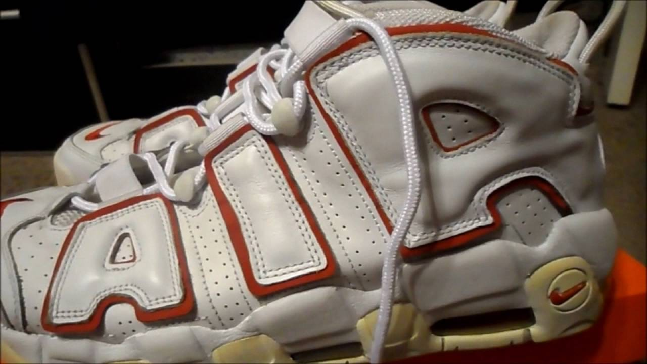 3902586adc New Pickup Nike Air More Uptempo White(2006 Release) - YouTube