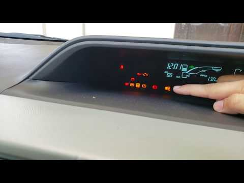 Toyota Aqua/Prius C Warning Signs(Dashboard Lights) In URDU