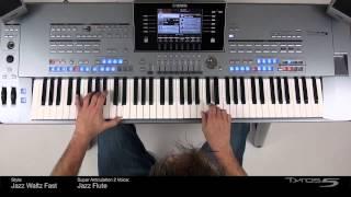 Tyros5: SA2 Jazz Flute