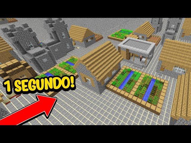 Minecraft: TE DESAFIO A SOBREVIVER MAIS QUE 1 SEGUNDO NESSE MUNDO!!!