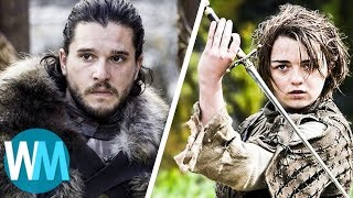 TOP 10 choses QU'ON VEUT VOIR dans la SAISON 8 de GAME OF THRONES !
