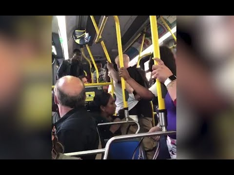 Watch: Near-brawl breaks out on Staten Island bus packed with frightened passengers