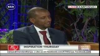 Jeff Koinange Live: Inspirational Thursday with Omar Mohammed Maalim , 4th August 2016 Part 1