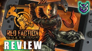 Red Faction Guerrilla Re-Mars-tered Switch Review-DESTRUCTION! (Video Game Video Review)