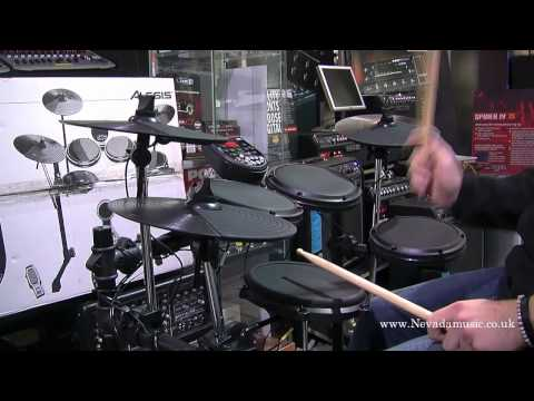 Alesis DM6 Electronic Drum Kit Demo - Nevada Music UK