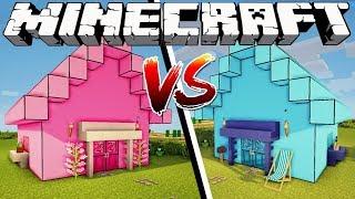 GIRL HOUSE VS BOY HOUSE - Minecraft