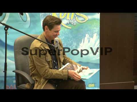 Jim Carrey At Jim Carrey How Roland Rolls Book Signing