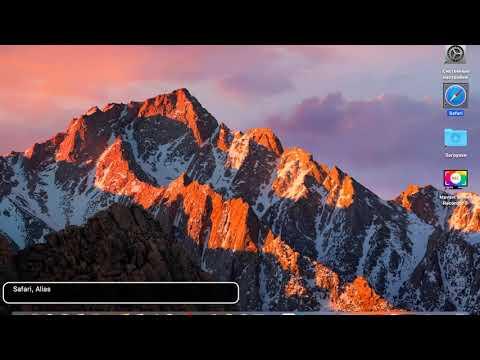 Добавление и удаление закладок в сафари на Mac OS при включённом VoiceOver