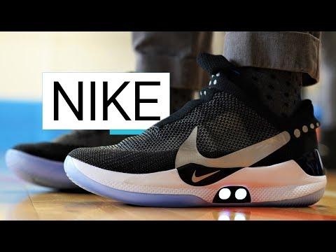 Nike Adapt BB: ecco le scarpe che si allacciano da sole, ma