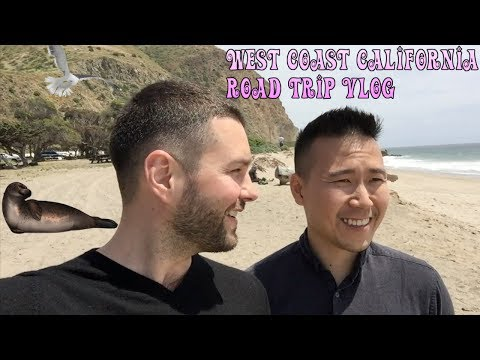 Road trip Vlog : California West coast
