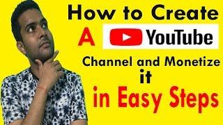 2018 kolay adım | youtube kanalı oluşturmak ve kendi youtube hesabı yapın para kazanın nasıl