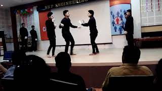 Best mime show in college fest
