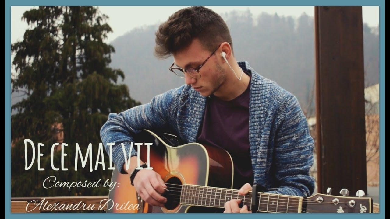 Alexandru Drilea - De ce mai vii (Official Video)
