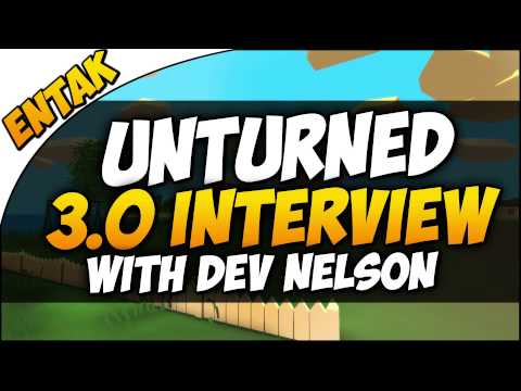 Unturned 3.0 Interview ➤ Q&A With The Developer Nelson - Your Questions Answered!