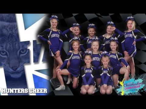 Hunters Cheer Minis Music - ECC Zagreb 2017