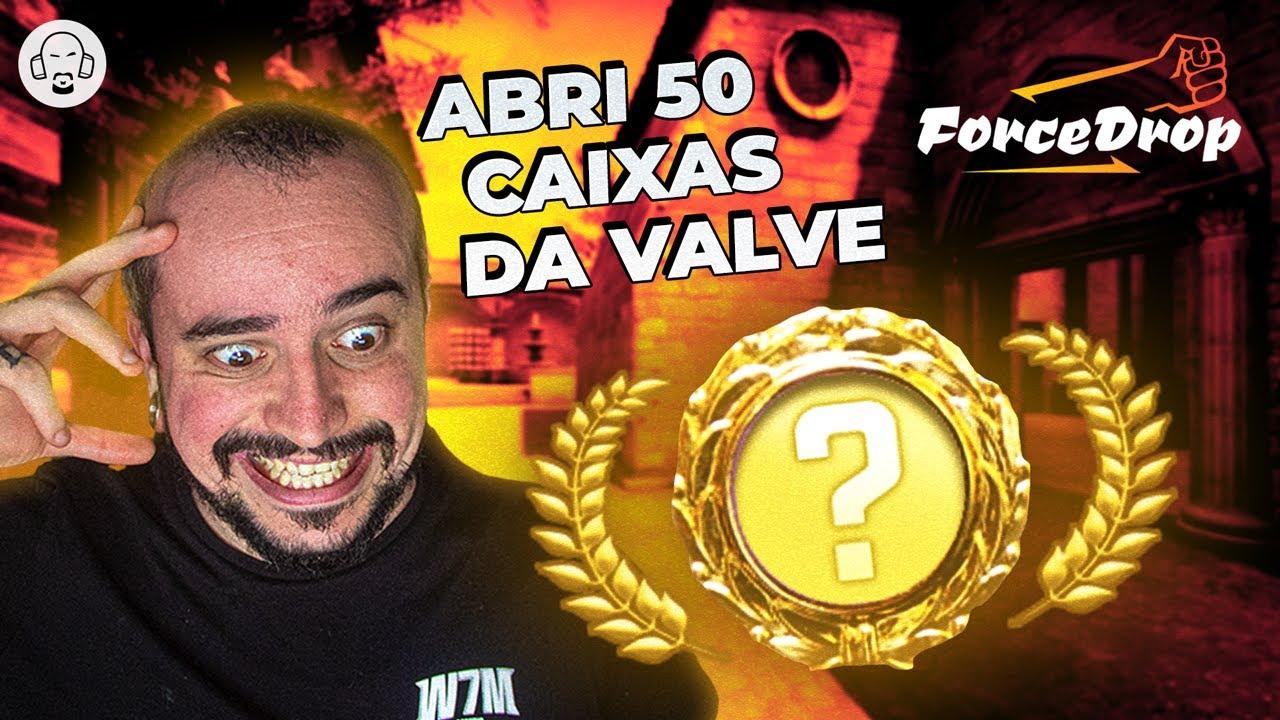 ABRI 50 CAIXAS DA VALVE NO FORCEDROP! DEU RUIM?!