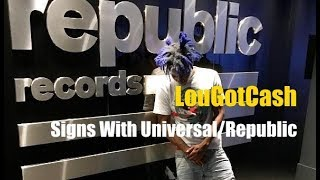 LouGotCash Signs With Universal/Republic Records #hiphopnews