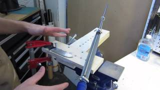 How To Make And Use A Filing Jig For Knife Blades.