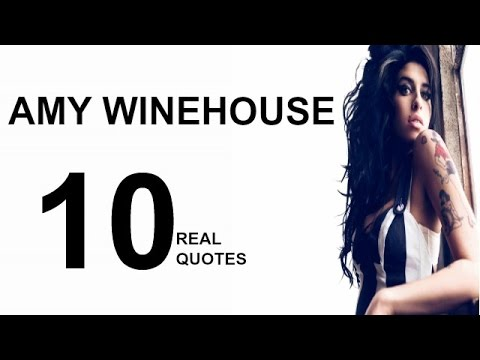 Amy Winehouse 10 Real Life Quotes on Success | Inspiring | Motivational Quotes