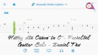 Canon in C (Pachelbel) - Hướng dẫn Guitar Solo #001