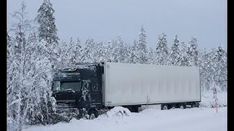 Raskaan liikenteen talvirengaspakko.